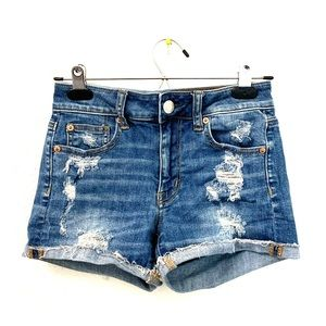 American Eagle Outfitters High Rise Shorts Size 0